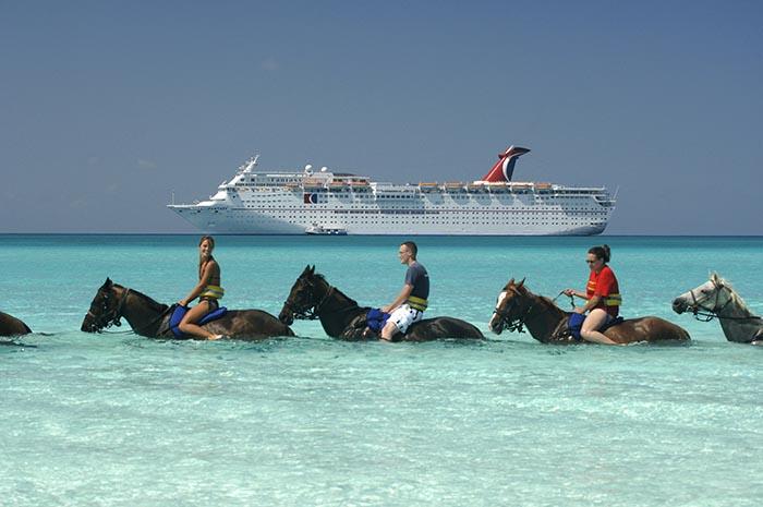 Carnival Cruises - Bahamas horse riding