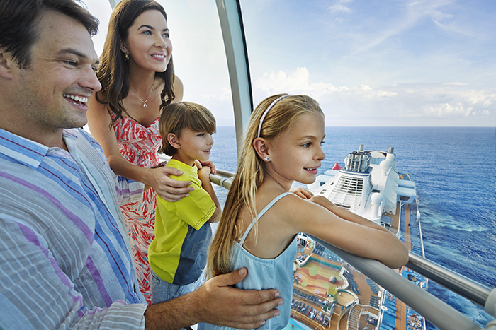 QN, Quantum, lifestyle, family, father, dad, mother, mom, son, boy, daughter, girl, fun, adventure, view from North Star, view of ocean,